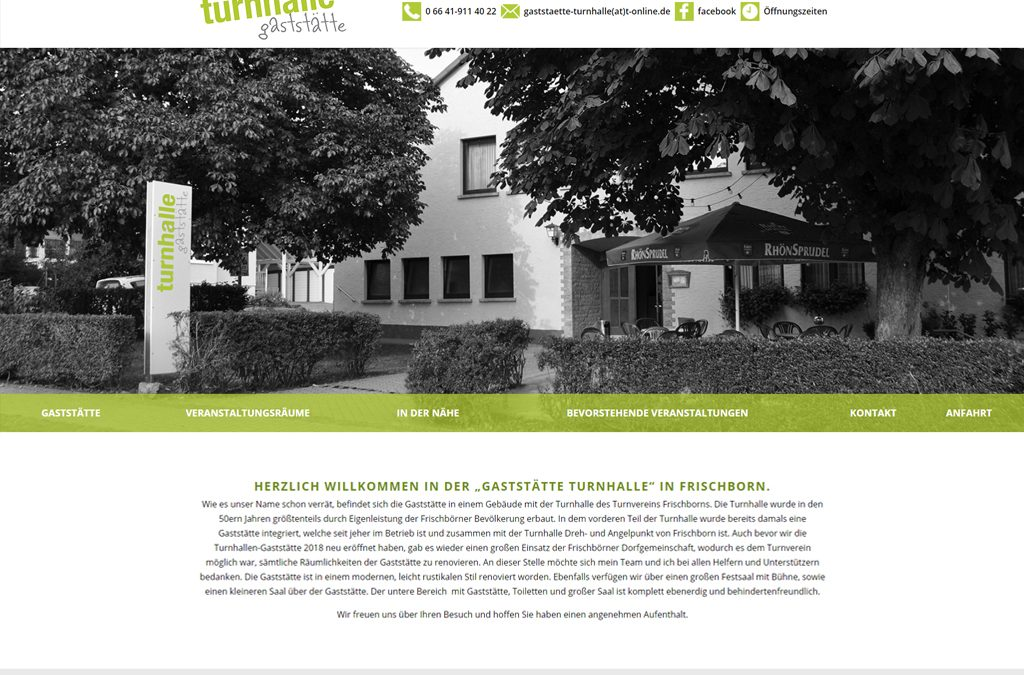 Unsere Internetseite